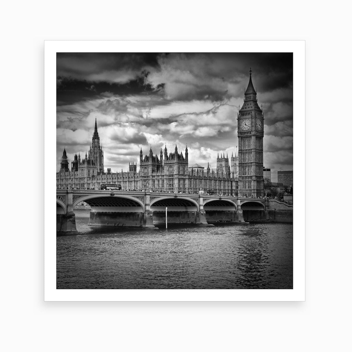 Westminster Square Art Print
