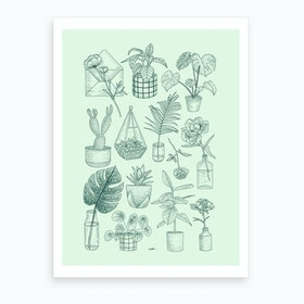 Plants Lover Art Print