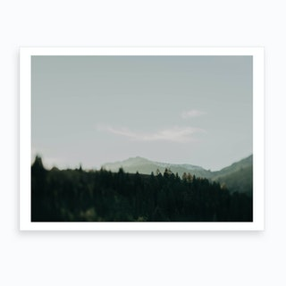 Top Of The Mountain Art Print