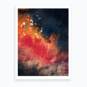 Oil Bright Vii Art Print