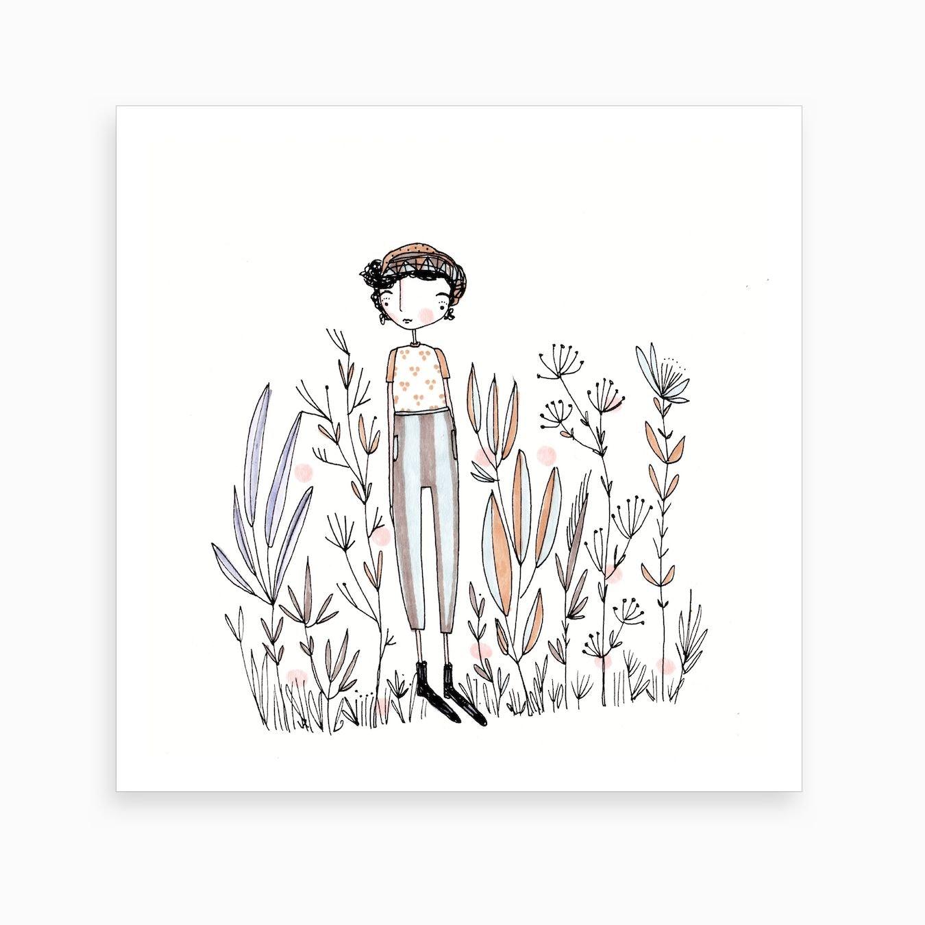 367829e7810c Lola Art Print