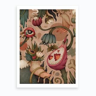 Surreal Tropics Art Print