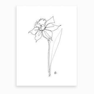 Daff Art Print