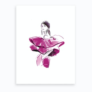 Spanish Girl Art Print
