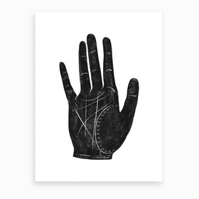 Fortune Hand Art Print