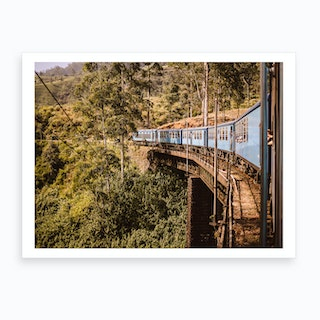 Train Sri Lanka Art Print