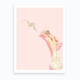 Glitter Holidays Art Print