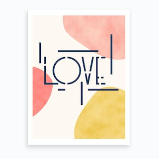 Pieces Of Love Art Print