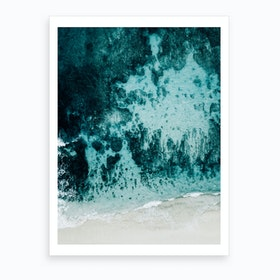 Beach Patterns I Art Print