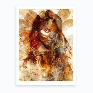 Stasia Art Print