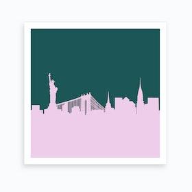 New York Lilac Art Print