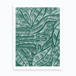 Desert Bird Art Print