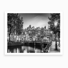 Amsterdam Idyllic Impression From Singel Art Print