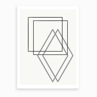 Geo 01 Art Print