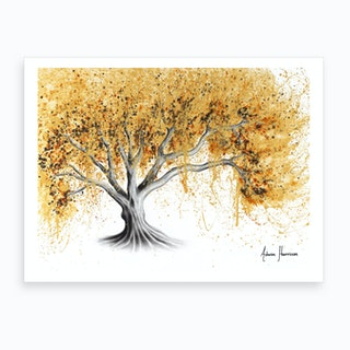 The Golden Tree Art Print
