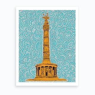 Berlin Siegessaule Art Print