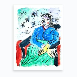 Mrs Morrison Art Print
