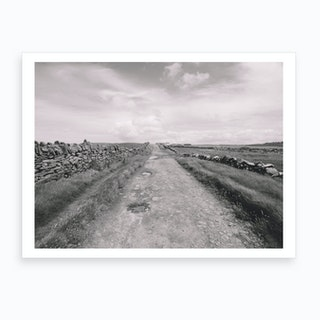 Doolin Pathways Art Print