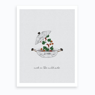 Wok On The Wild Side Art Print