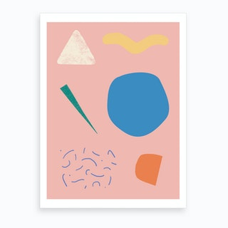 Bag Bits Art Print