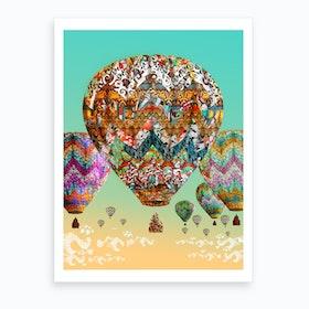 Dream Balloon 2 Art Print