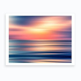 Abstract Sunset II Art Print