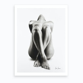 Sitting Alone  Art Print