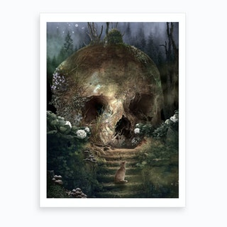 Garden Of Curiosity Art Print