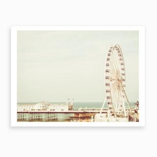 British Seaside Art Print