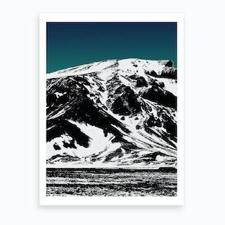 Iceland Mountains I Art Print
