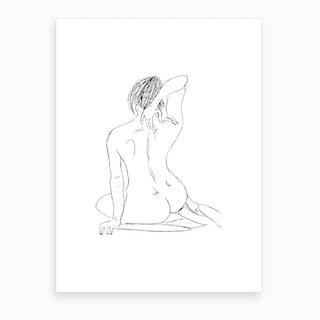 Female Figure Art Print