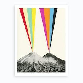 Volcanos Art Print