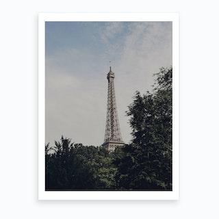 Paris Jungle Art Print
