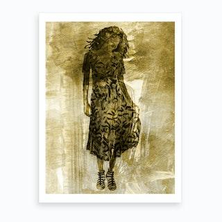 Evening Gown 5 Art Print