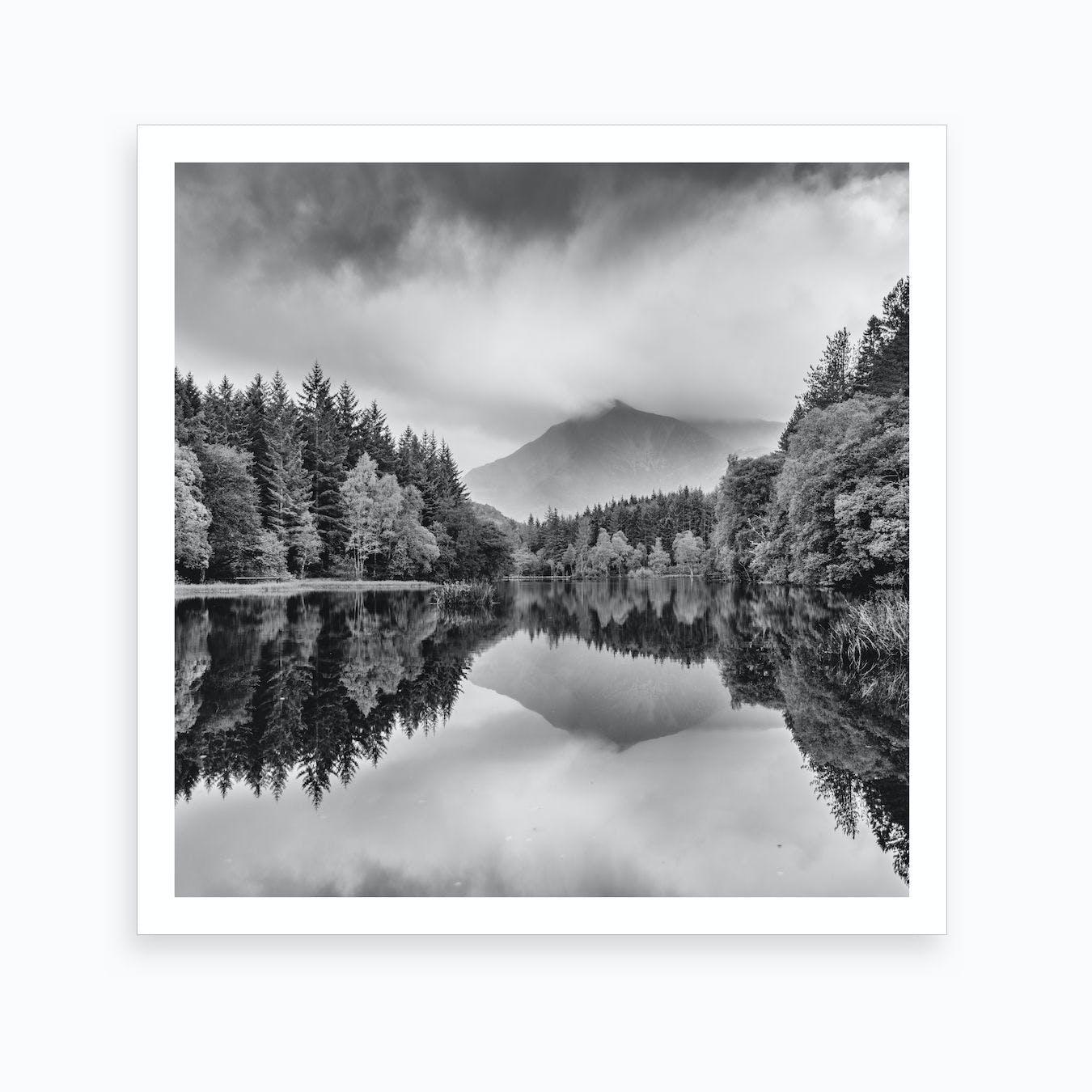 STUNNING Glencoe 7 canvas print or black framed print Print Glencoe