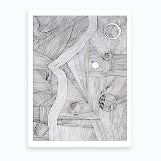 Landskap Art Print