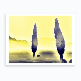 Two Five In Art Print