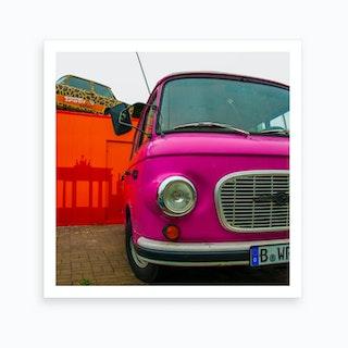 Berlin Bus Art Print