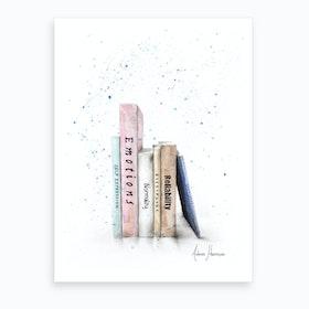 Books Of Me  Art Print
