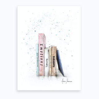 Books Of Me  Art Print