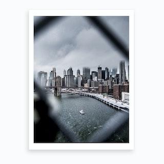 Gotham City  Art Print
