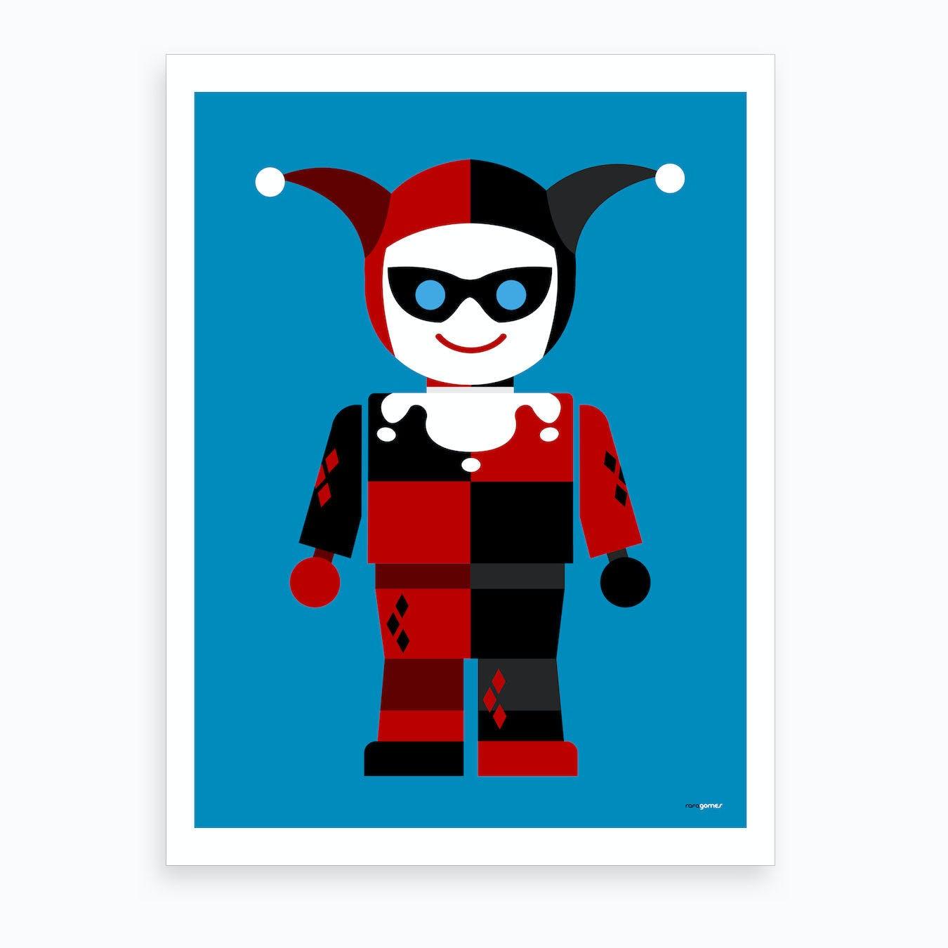 Harley Quinn Toy Art Print
