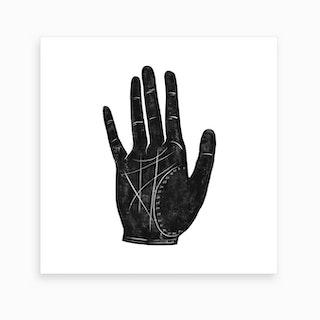 Fortune Hand 2 Art Print