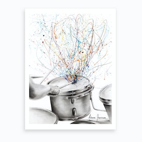 The Drum Solo Art Print