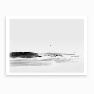 Sea Rock Art Print