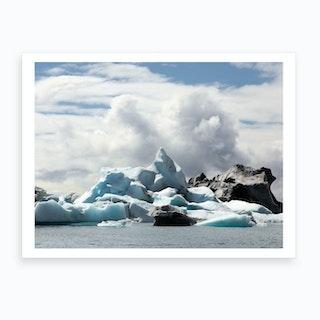 Chasing Ice Art Print