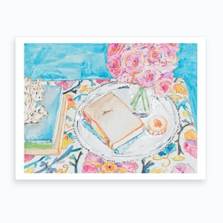 Afternoon Reading Art Print