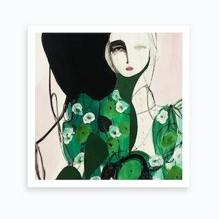 Green Spring 2 Art Print