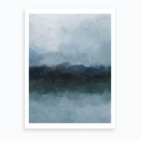 Stormy Day Art Print