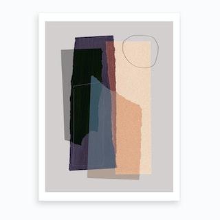 Pieces 5b Art Print
